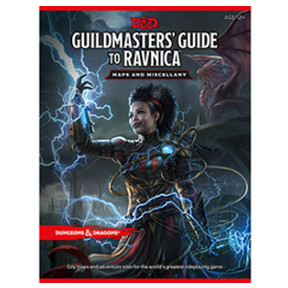 Dungeons and Dragons - 5th Edition - Guildmasters' Guide to Ravnica Map Pack